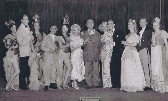 1950s Pantomine show